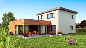 Dům na míru - barevně